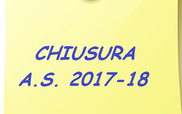 CHIUSURA Anno Sociale 17-18